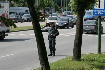 Lietuviai pastebėjo gerus policininkus