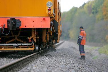 Geležinkelietis įkliuvo vogdamas kurą