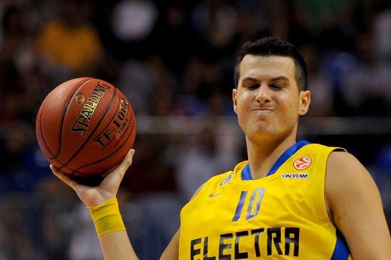 """""""Maccabi"""" žaidėjas priešininką vadino naciu ir linkėjo smegenų auglio"""