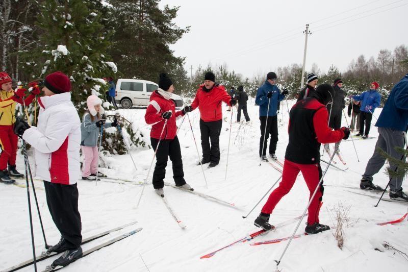 """Sostinėje startuos tradiciniai """"Snaigės"""" žygiai"""