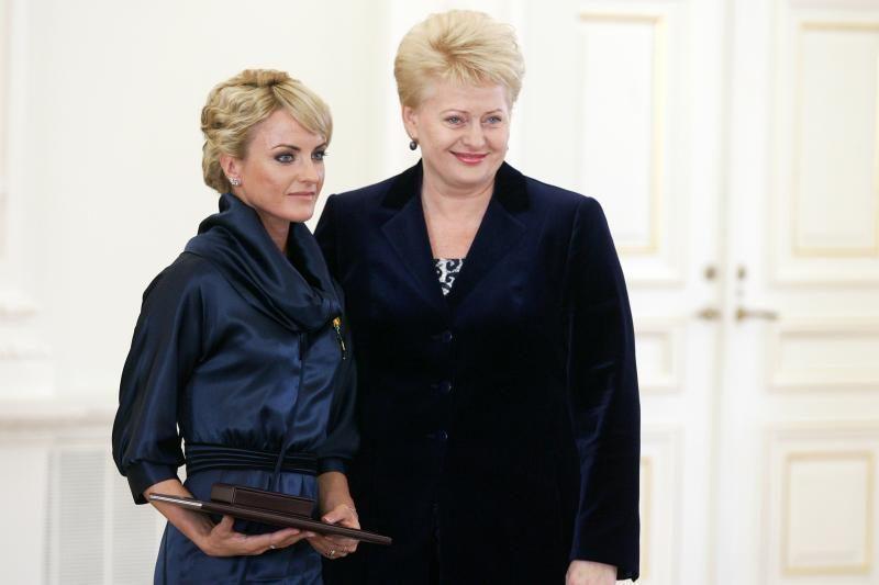 Prezidentė išbraukė Ž.Balčiūnaitę ir trenerį iš apdovanotųjų sąrašo