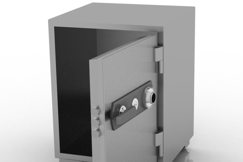 Klaipėdoje iš seifo bute pavogtas ginklas