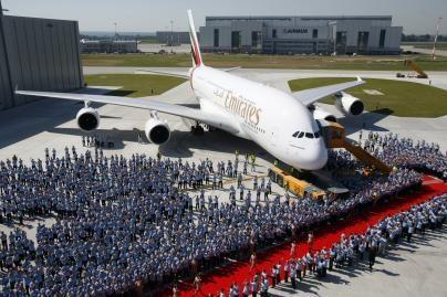 Didžiausią orlaivį antrieji įsigijo JAE (nuotr.)