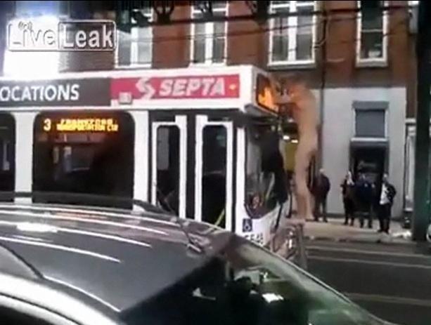 Vyriškis pabandė išprievartauti… autobusą