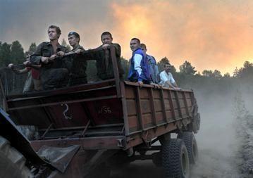Prie Rusijos branduolinio centro gaisrų židinių nėra