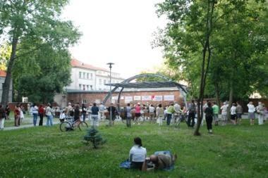 Klaipėdiečiai pamėgo koncertus parke