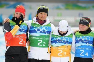 Permainingose moterų biatlono estafečių lenktynėse - įprastas rezultatas
