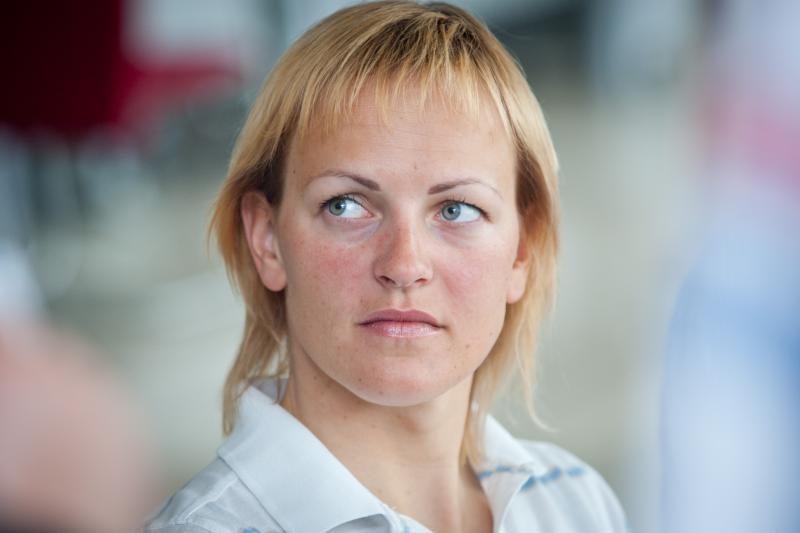 S. Krupeckaitė - Europos dviračių treko čempionato finale