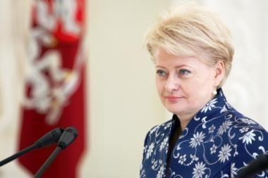 D. Grybauskaitė paprašė užsienio šalių ambasadorių pagalbos