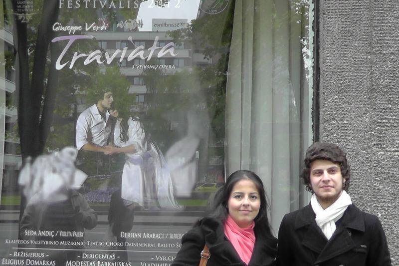 "Klaipėdos muzikiniame teatre – ""Traviata"""