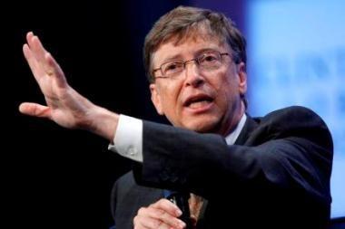 Gatesas vėl pirmasis JAV milijardierių sąraše