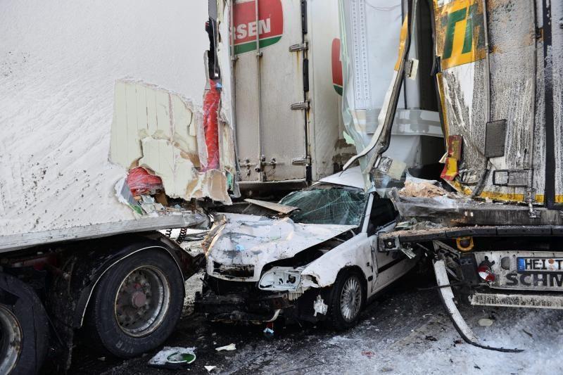 Neįprastos saugumo didinimo priemonės Vokietijos keliuose