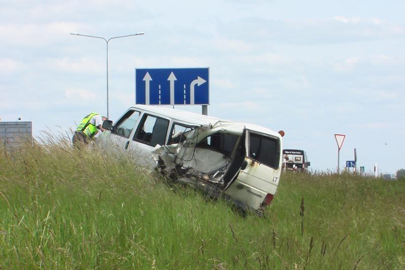 """Padažnėjus avarijų """"Via Baltica"""" kelyje stiprinama kontrolė"""