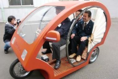 Elektra varoma japoniška rikša