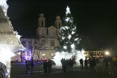 Kalėdiniai renginiai Rotušės aikštėje (programa)