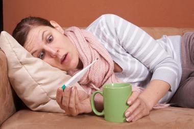 Gripas traukiasi, bet daugėja kvėpavimo takų infekcijų