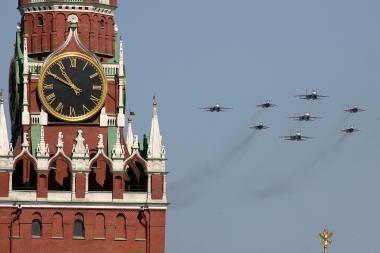 Maskva neigia, kad jos strateginiai bombonešiai pažeidė Britanijos sienas