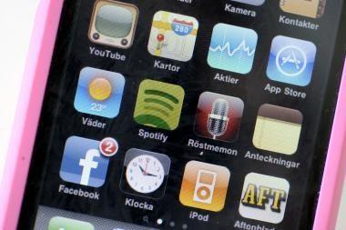 """""""iPhone"""" pažins ir savą ir svetimą"""