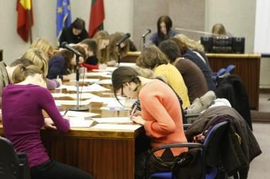 Klaipėdiečiai kviečiami dalyvauti Nacionalinio diktanto konkurse