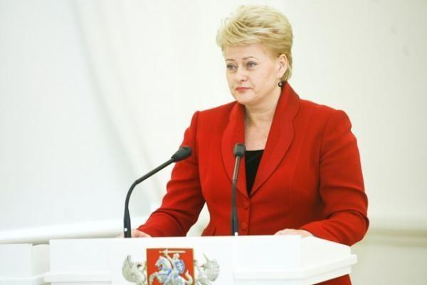 D.Grybauskaitė: ES remiami energetikos projektai užtikrins Baltijos šalių energetinę nepriklausomybę