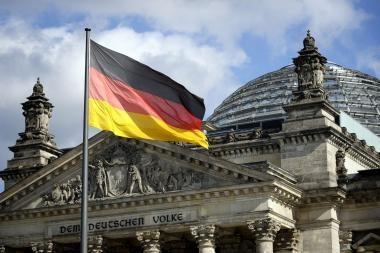 Vokietijos ūkio prieaugis šiemet sieks 2,5 proc.