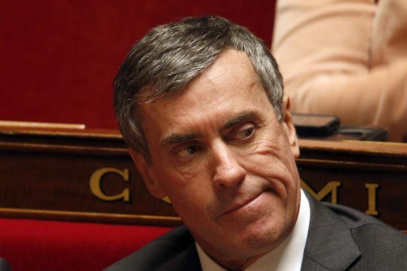 Prancūzų biudžeto ministras atsistatydino dėl sąskaitų Šveicarijoje