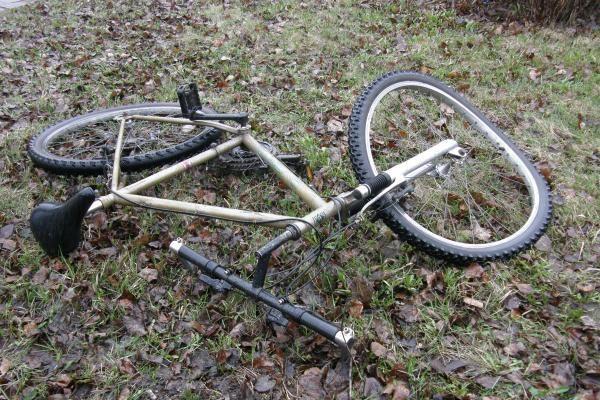 Panevėžio rajone žuvo dviratininkas