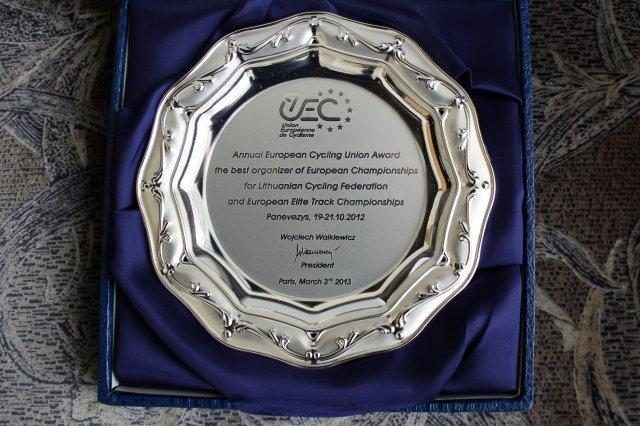 Lietuvoje vykęs treko čempionatas sulaukė ypatingo įvertinimo