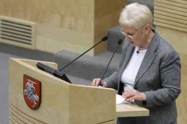 I.Degutienė: Visagino atominės elektrinės statyba lieka Lietuvos prioritetu