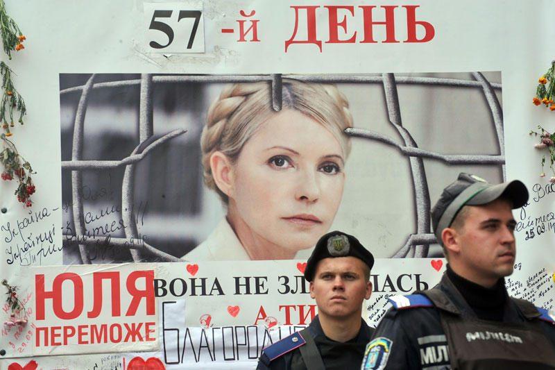Julija Tymošenko nutraukė bado streiką