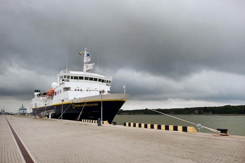 Kruizinių laivų sezonas uostamiestyje – uždarytas