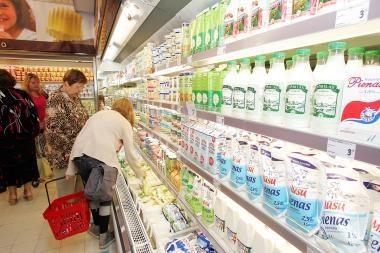 Pieno perdirbimo įmonės sukaupė gaminių atsargų
