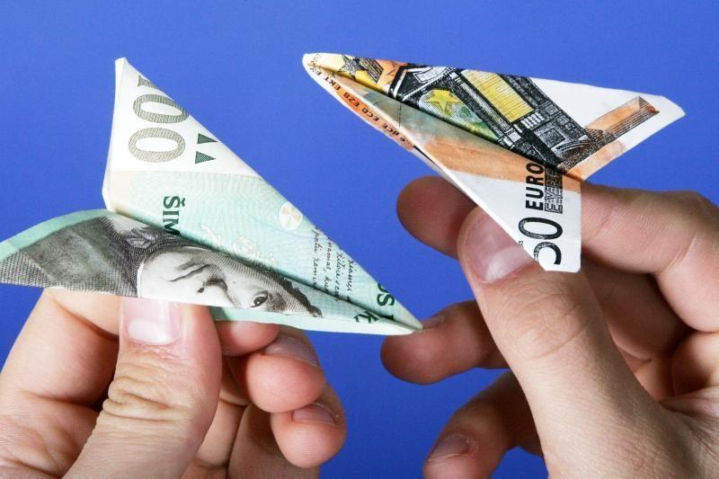 Tyrimas: vidutinės studento pajamos per mėnesį – 615 litų