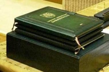 Konservatorius siūlo įteisinti priesaiką valstybės tarnautojams