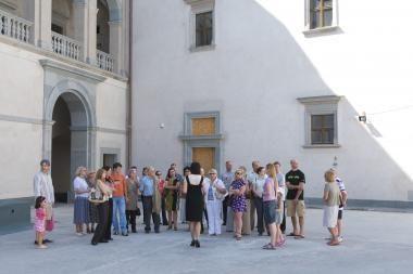 Valdovų rūmus per maždaug mėnesį apžiūrėjo 20 tūkst. lankytojų