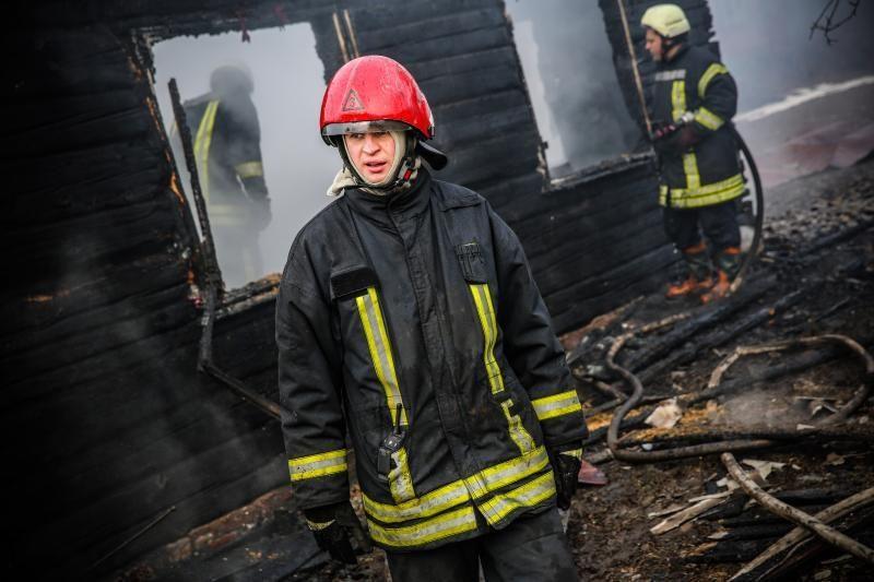 Elektrėnų savivaldybėje gaisravietėje rastas lavonas