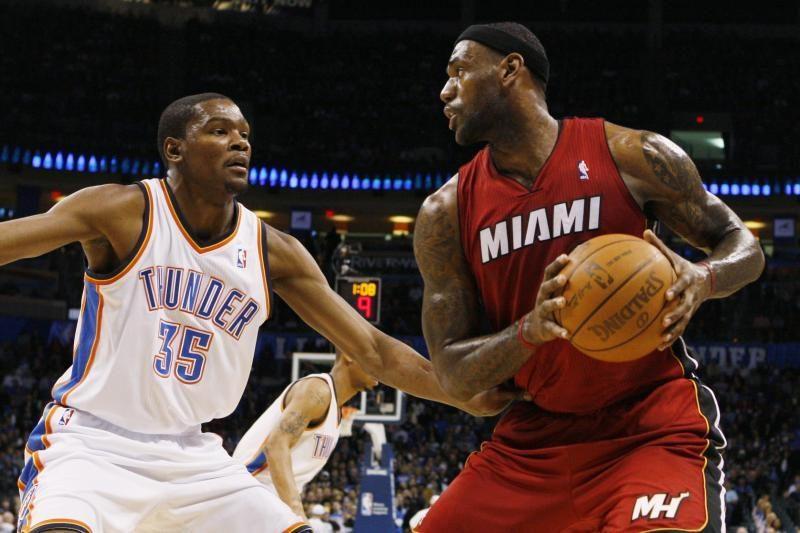 L.Jamesas ir K.Durantas tapo NBA savaitės krepšininkais