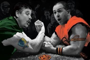 """Ukrainiečių """"Basketbol"""" viršelyje - ir R.Grigas"""