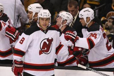 Trisdešimtoji D.Zubraus komandos pergalė NHL pirmenybėse