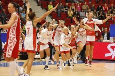 Lietuviškos suknelės atnešė laimę Baltarusijos krepšininkėms