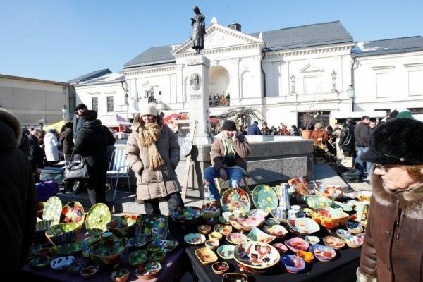Kaziuko mugė Klaipėdoje – pavasario pradžioje
