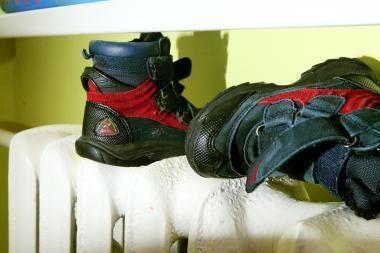 Kaip dezinfekuoti dėvėtus batus?