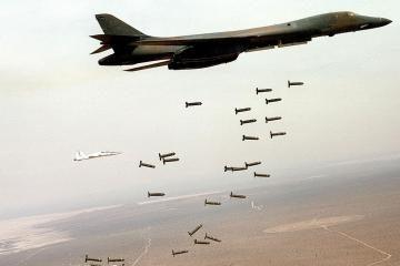Pasiektas susitarimas uždrausti kasetines bombas