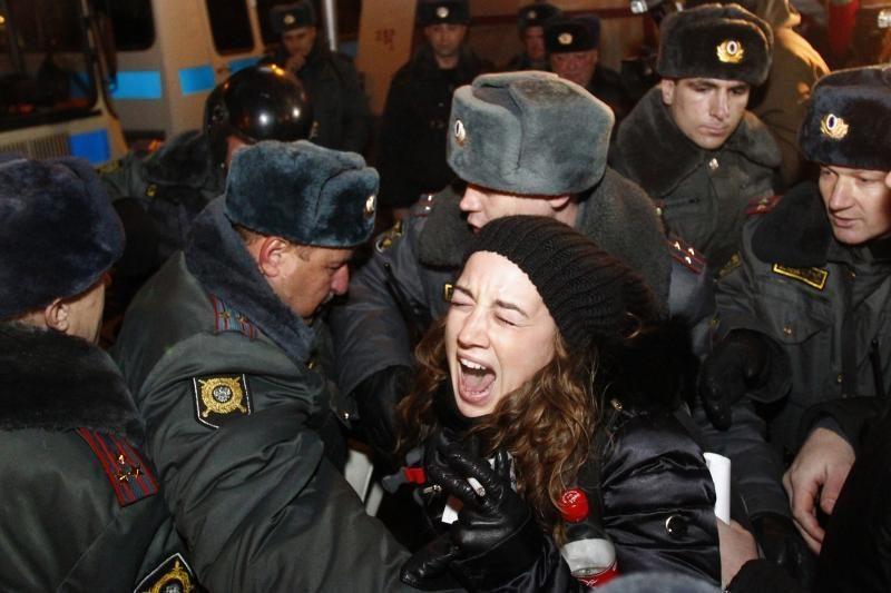 Rusijoje pradėtas tyrimas opozicijos lyderio atžvilgiu