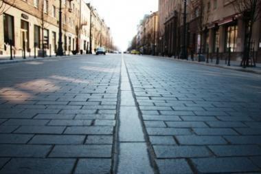 Savaitgalį sostinėje bus ribojamas automobilių eismas