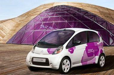"""""""Citroen"""" pristatys tikrą elektromobilį"""