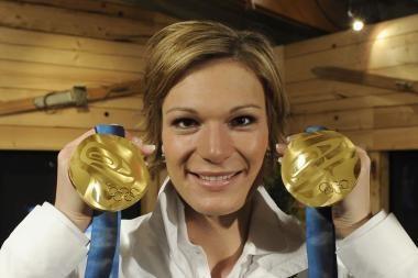 Pasaulio slalomo čempionė iš Vokietijos tapo ir olimpine čempione