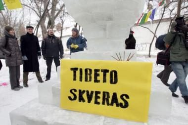 Pritarta: Tibeto skveras bus Užupyje