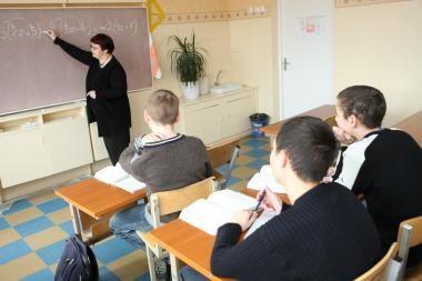 Didžiausias džiaugsmas mokytojui – mokinių dėmesys