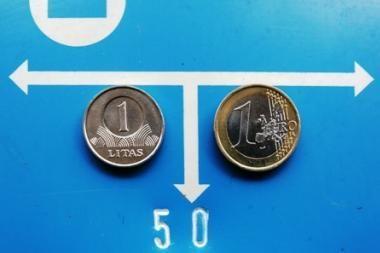 I.Šimonytė: euras - tik po 2013 m.
